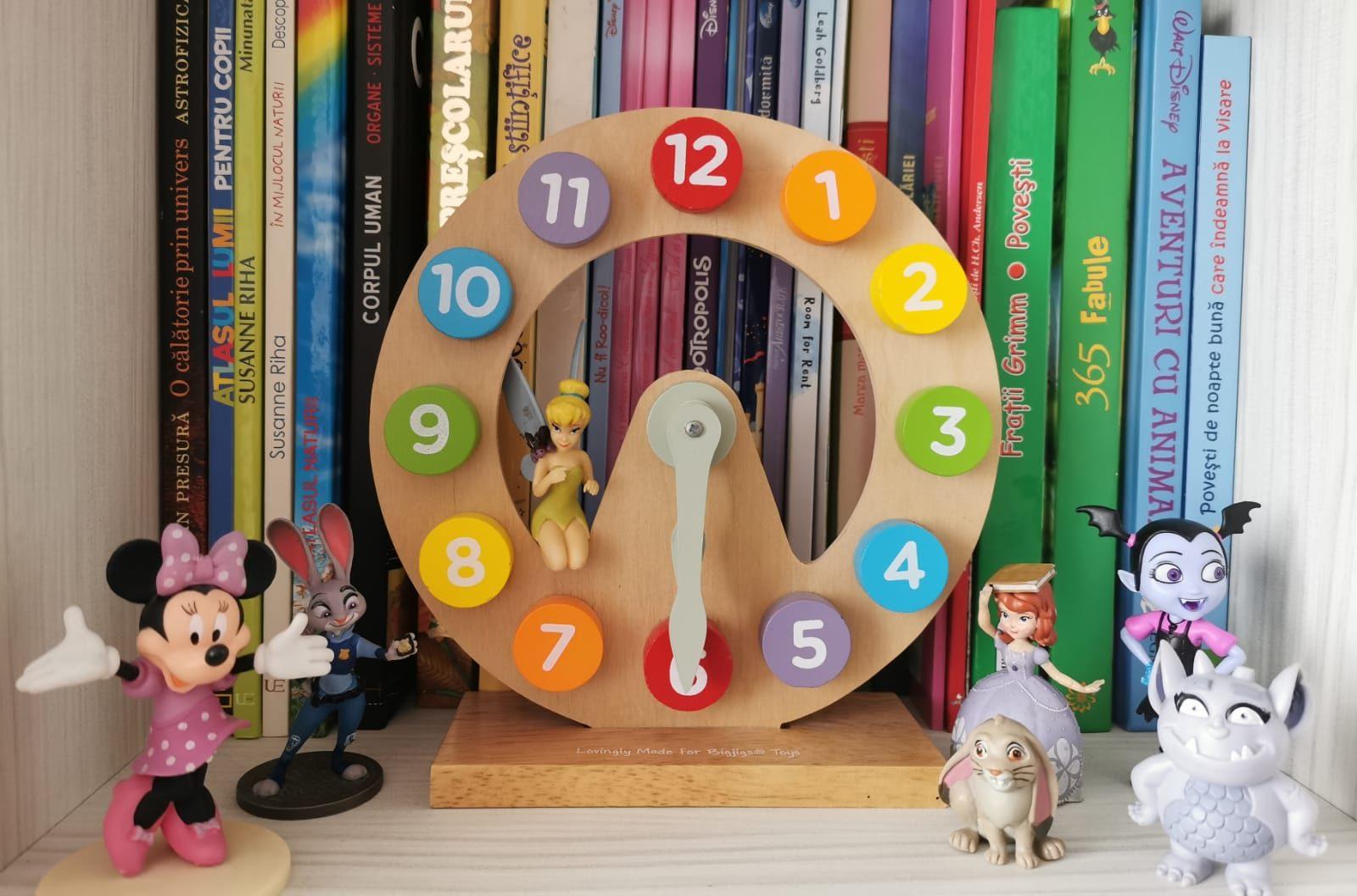 Cum îi învățăm pe copii cât e ceasul?